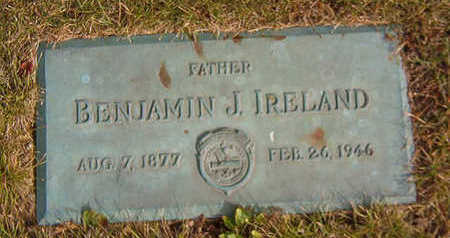 IRELAND, BENJAMIN J. - Black Hawk County, Iowa | BENJAMIN J. IRELAND