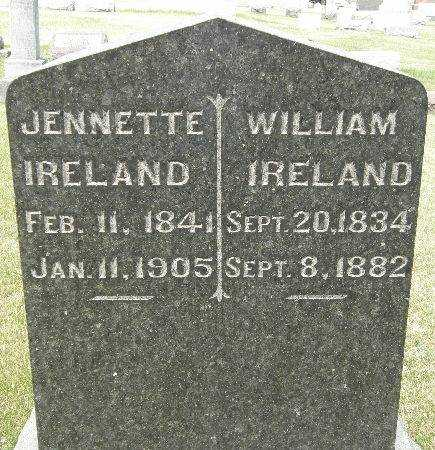 IRELAND, JENNETTE - Black Hawk County, Iowa | JENNETTE IRELAND