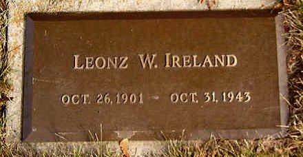 IRELAND, LEONZ W. - Black Hawk County, Iowa | LEONZ W. IRELAND