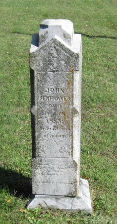 ISENHOWER, JOHN - Black Hawk County, Iowa   JOHN ISENHOWER