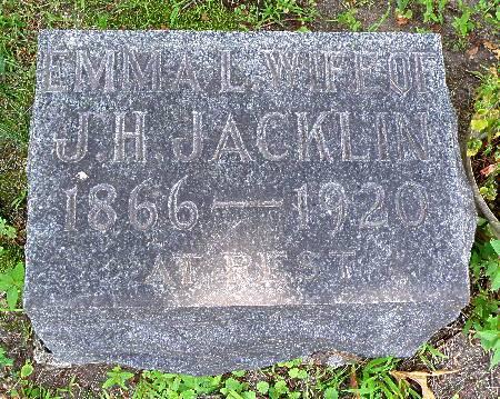 JACKLIN, EMMA L. - Black Hawk County, Iowa | EMMA L. JACKLIN