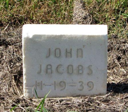 JACOBS, JOHN - Black Hawk County, Iowa | JOHN JACOBS
