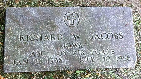 JACOBS, RICHARD W. - Black Hawk County, Iowa | RICHARD W. JACOBS