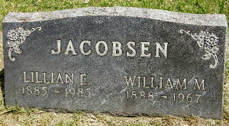 JACOBSEN, LILLIAN E. - Black Hawk County, Iowa | LILLIAN E. JACOBSEN