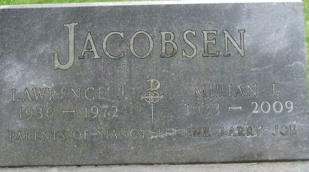 JACOBSEN, MIRIAN J. - Black Hawk County, Iowa | MIRIAN J. JACOBSEN