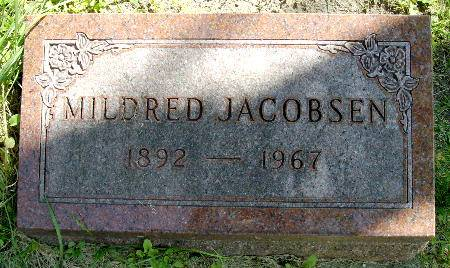 JACOBSEN, MILDRED - Black Hawk County, Iowa | MILDRED JACOBSEN