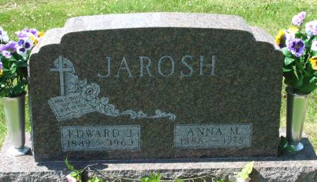 JAROSH, EDWARD J. - Black Hawk County, Iowa | EDWARD J. JAROSH