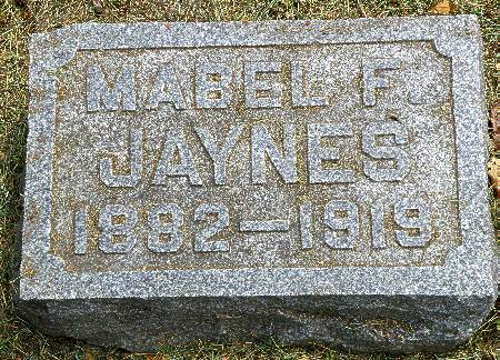 JAYNES, MABEL F. - Black Hawk County, Iowa | MABEL F. JAYNES