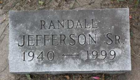 JEFFERSON, SR., RANDALL - Black Hawk County, Iowa | RANDALL JEFFERSON, SR.
