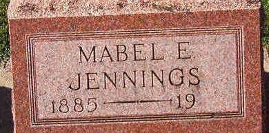 JENNINGS, MABEL E. - Black Hawk County, Iowa | MABEL E. JENNINGS