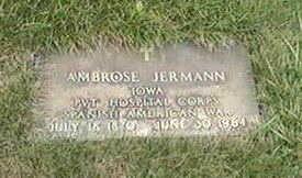 JERMANN, AMBROSE - Black Hawk County, Iowa   AMBROSE JERMANN