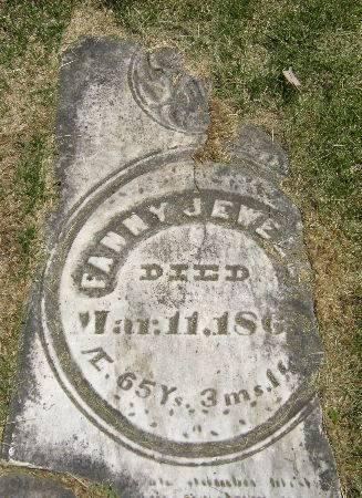 JEWELL, FANNY - Black Hawk County, Iowa | FANNY JEWELL
