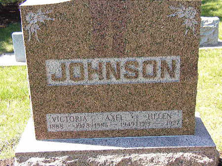JOHNSON, AXEL - Black Hawk County, Iowa | AXEL JOHNSON