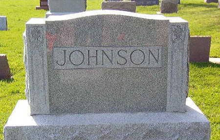 JOHNSON, FAMILY STONE - Black Hawk County, Iowa | FAMILY STONE JOHNSON