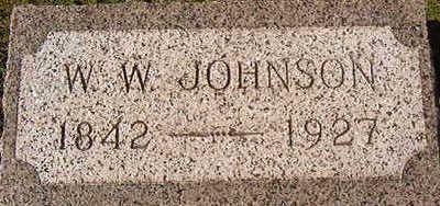 JOHNSON, W.W. - Black Hawk County, Iowa   W.W. JOHNSON