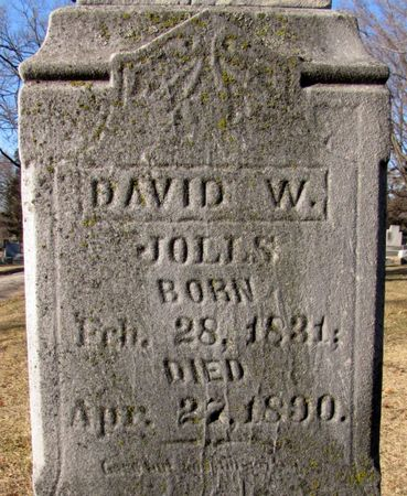 JOLLS, DAVID W. - Black Hawk County, Iowa | DAVID W. JOLLS