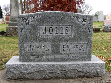 JOLLS, DELLA GERTRUDE - Black Hawk County, Iowa | DELLA GERTRUDE JOLLS