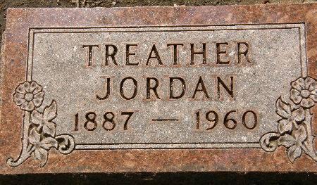 JORDAN, TREATHER - Black Hawk County, Iowa   TREATHER JORDAN