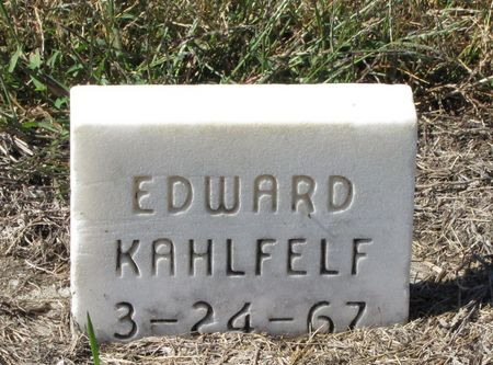 KAHLFELF, EDWARD - Black Hawk County, Iowa | EDWARD KAHLFELF