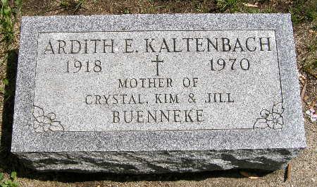 KALTENBACH, ARDITH E. - Black Hawk County, Iowa | ARDITH E. KALTENBACH