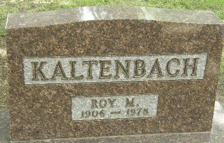 KALTENBACH, ROY M. - Black Hawk County, Iowa | ROY M. KALTENBACH