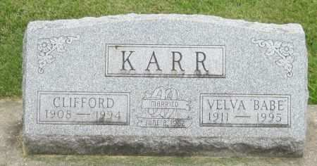 KARR, CLIFFORD - Black Hawk County, Iowa | CLIFFORD KARR