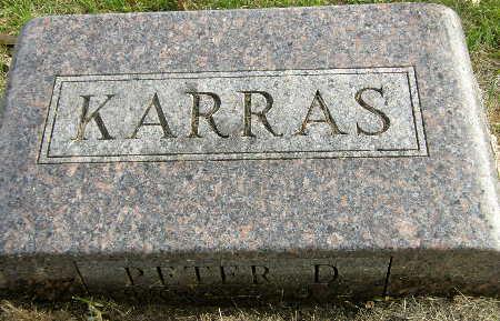 KARRAS, PETER D. - Black Hawk County, Iowa | PETER D. KARRAS