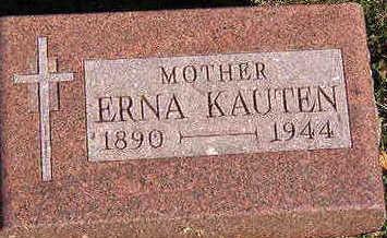 KAUTEN, ERNA - Black Hawk County, Iowa | ERNA KAUTEN