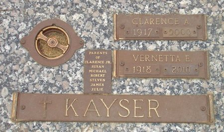 KUEHL KAYSER, VERNETTA ROZINA - Black Hawk County, Iowa | VERNETTA ROZINA KUEHL KAYSER