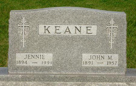 KEANE, JENNIE - Black Hawk County, Iowa | JENNIE KEANE