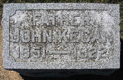 KEEGAN, JOHN - Black Hawk County, Iowa   JOHN KEEGAN