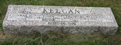 KEEGAN, LAWRENCE - Black Hawk County, Iowa | LAWRENCE KEEGAN