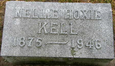 HOXIE KELL, NELLIE - Black Hawk County, Iowa | NELLIE HOXIE KELL