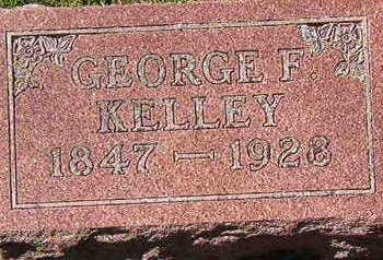 KELLEY, GEORGE F. - Black Hawk County, Iowa   GEORGE F. KELLEY