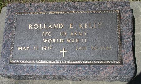 KELLY, ROLLAND E. - Black Hawk County, Iowa | ROLLAND E. KELLY