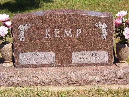 KEMP, AGNES - Black Hawk County, Iowa | AGNES KEMP