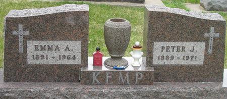 SCHAFER KEMP, EMMA A. - Black Hawk County, Iowa | EMMA A. SCHAFER KEMP