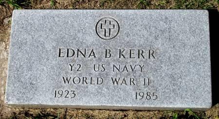 KERR, EDNA B. - Black Hawk County, Iowa | EDNA B. KERR