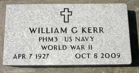 KERR, WILLIAM G. - Black Hawk County, Iowa | WILLIAM G. KERR