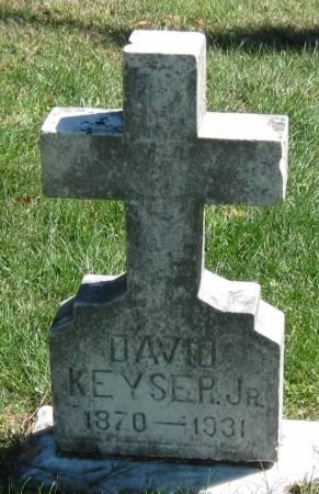 KEYSER, JR., DAVID - Black Hawk County, Iowa | DAVID KEYSER, JR.