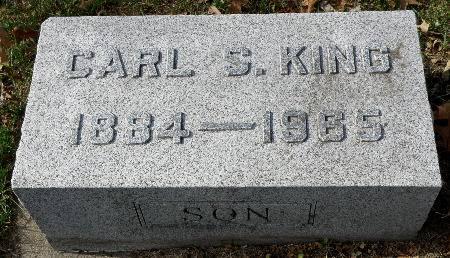 KING, CARL S. - Black Hawk County, Iowa   CARL S. KING