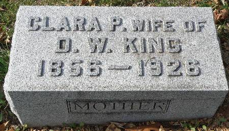 KING, CLARA P. - Black Hawk County, Iowa | CLARA P. KING