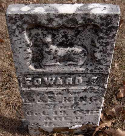 KING, EDWARD F. - Black Hawk County, Iowa | EDWARD F. KING