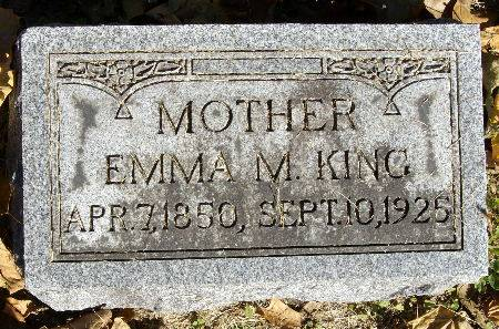 KING, EMMA M. - Black Hawk County, Iowa | EMMA M. KING