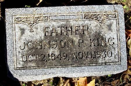 KING, JOHNSON P. - Black Hawk County, Iowa   JOHNSON P. KING
