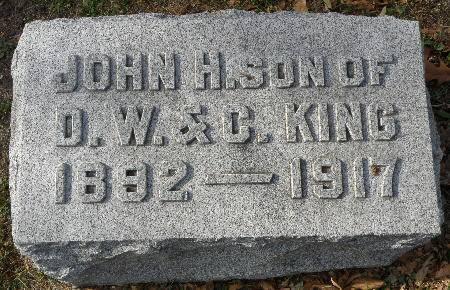 KING, JOHN H. - Black Hawk County, Iowa | JOHN H. KING