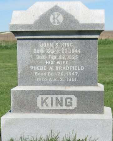 KING, JOHN S - Black Hawk County, Iowa | JOHN S KING