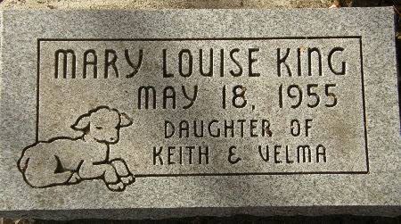 KING, MARY LOUISE - Black Hawk County, Iowa | MARY LOUISE KING