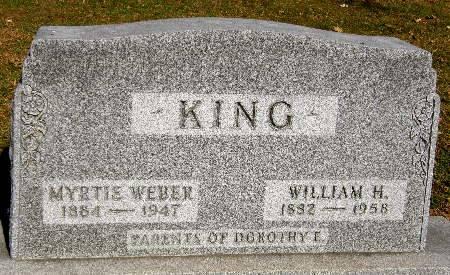 KING, MYRTIE - Black Hawk County, Iowa | MYRTIE KING