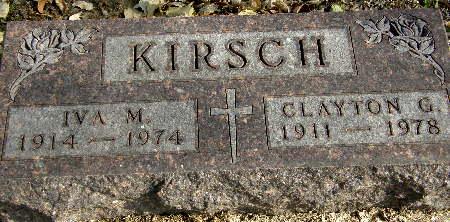 KIRSCH, CLAYTON G. - Black Hawk County, Iowa | CLAYTON G. KIRSCH
